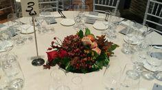 Centro otoñal mesa de invitados
