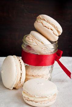 Vanilla Macarons with French Buttercream | Hint of Vanilla