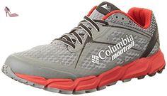 Columbia Caldorado II, Shoes Homme - Multicolore (Charcoal/Bright rouge 030), 46 EU