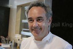 Meeting Ferran Adria at El Bulli.