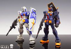 MG 1/100 RX-78-2 Gundam 3.0 Ver. TITANS of A.O.Z - Painted Build     Modeled by SKULL