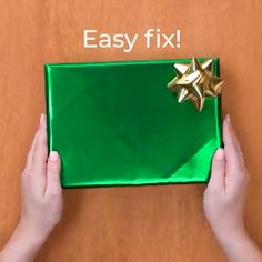 Awsome wrapping gift ideas you will love to know # Gift Ideas videos Wrapping gifts got a whole lot easier with these 13 clever ideas! Diy Crafts Hacks, Diy Crafts For Gifts, Diy Home Crafts, Cool Paper Crafts, Paper Crafts Origami, Creative Gift Wrapping, Creative Gifts, Wrapping Gifts, Japanese Gift Wrapping