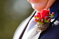 Great combination for a corsage @cedarwoodwed | DOVE Photography