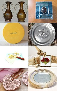 Magnificent Metals by Suzanne Edwards on Etsy--Pinned with TreasuryPin.com