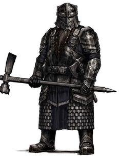 Dwarf Male Fighter Heavy Hammer Generic