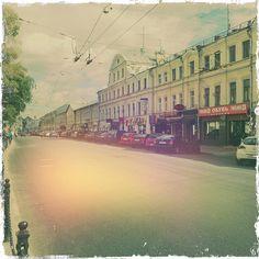 улица Покровка  (Adler 9009 объектив, Kodot XGrizzled пленка, Dreampop вспышка)