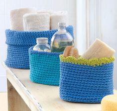 Baskets to crochet
