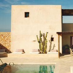 Escape to this amazing house in #Formentera this summer designed by #luisgalliusi #summerescapes on #trendland