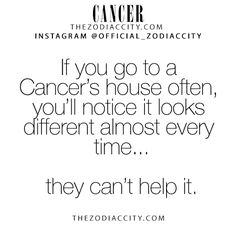 Zodiac Cancer Facts! TheZodiacCity.com - For more zodiac fun facts, click here.