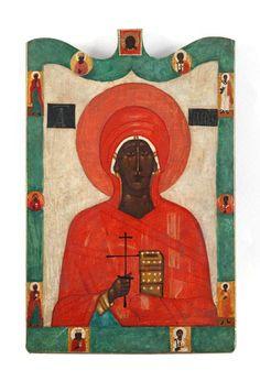 070 Ikona - Święta Paraskewa, 1962 r.