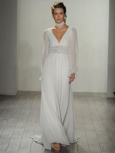 Alvina Valenta Fall 2017: Romantic and Dreamy Wedding Dresses | TheKnot.com