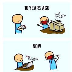 Haha! So true! Oh the early 2000s.