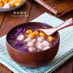 【曼食慢语】芋圆红豆汤 - 曼食慢语