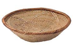 Woven Native American Basket