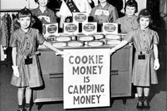1970s girls scouts  | Girl Scouts Of America - We love CAMPING!