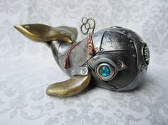 Steampunk - Industrial Whale 2a by *artisme on deviantART