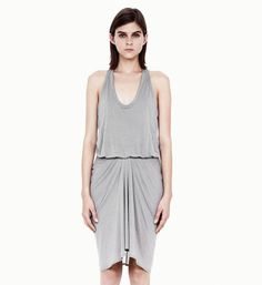 Helmut Lang SLACK JERSEY SLEEVELESS DRESS on helmutlang.com