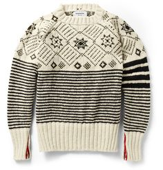 Thom Browne Fair Isle Wool Sweater | nice cuff detailing