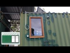 Shipping Container House - How to build off-grid shipping container house ebook - YouTube