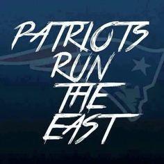 Patriots run the east