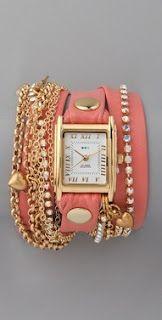 i want a wrap bracelet watch so much.