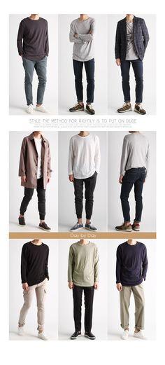 네츄럴 루즈핏 슬라브 워싱티셔츠-rt609 - [존클락]30대 남자옷쇼핑몰, 깔끔한 캐쥬얼 데일리룩, 추천코디