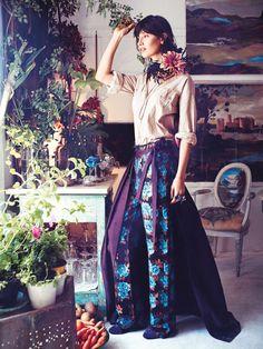 sabrina ioffreda by will davidson for vogue australia november 2015 | visual optimism; fashion editorials, shows, campaigns & more!