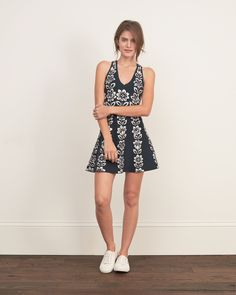 Womens Jacquard Sweater Dress | Womens Dresses & Rompers | Abercrombie.com