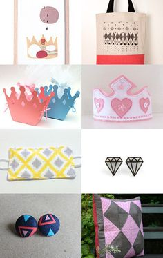 diamonds by Stuart McWilliam on Etsy--Pinned with TreasuryPin.com