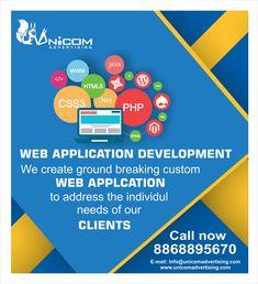 Unicom Advertising: Advertising Agency in India Web Application Development, Web Development Company, Brand Advertising, Digital, Create