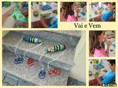 Brinquedos feitos de Garrafas de Plástico (PET). Atividade do Dia da Mãe ou Dia da Criança. Reciclagem e Artesanato. Com Passo a Passo.
