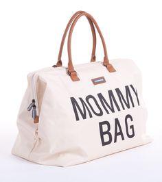 Luiertas Mommy Bag in gebroken wit, inclusief opvouwbaar verzorgingsmatje. Een echte must have voor mama's met stijl!