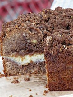Delicious Cinnamon Cream Cheese Coffee Cake!