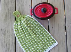 Crochet Tea Towel