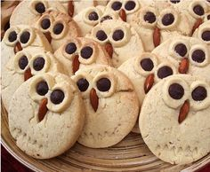 owl cookies- I know Whoooo would love these @Grammarous!!