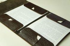 Деловая кожаная папка для документов - Ярмарка Мастеров - ручная работа, handmade