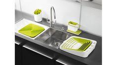 Caddy - Sink Tidy by Joseph Joseph Diy Design, Rack Design, Smart Design, Clever Design, Design Ideas, Interior Design, Kitchen Stove, Kitchen Dining, Kitchen Decor