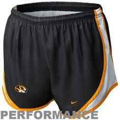 Nike Missouri Tigers Youth Girls Tempo Performance Shorts - Black - $20.99