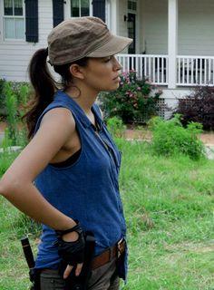 Rosita Espinosa in 'The Walking Dead' Season 6 Episode 7 Heads Up