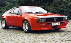 Lancia Beta Montecarlo (1980) This is the angriest one I've ever seen, & i kinda like it...