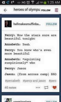#PJO #HoO | Bros | Bromance | Brotp | Jason and Percy | Annabeth