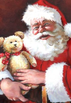 Leading Illustration & Publishing Agency based in London, New York & Marbella. Magical Christmas, Merry Little Christmas, Merry Christmas And Happy New Year, Father Christmas, Santa Christmas, Beautiful Christmas, Christmas Time, Vintage Christmas, Christmas Card Pictures