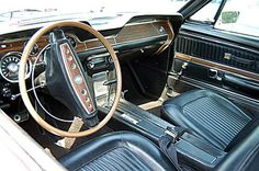 1968 Ford Mustang Photo Gallery: 1968 Ford Mustang Interior