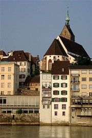Martinskirche de Bâle. Crédit: //de.wikipedia.org/