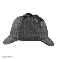 Jaxon Hats Sherlock Holmes Herringbone Hat/ i got myself one of these this weekend!