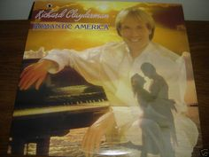 RICHARD CLAYDERMAN ROMANTIC AMERICA PROMO RECORD NM