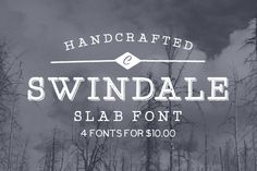 Swindale by Tom Chalky on Creative Market