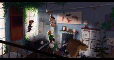 Room by Mike Redman on ArtStation.