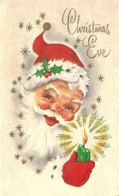 Santa Card   ♺ Kathy H
