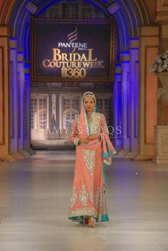 Engagement colors? Pakistani Couture, Pakistani Bridal Wear, Pakistani Outfits, Indian Outfits, Pakistani Clothing, Desi Bride, Desi Wedding, Wedding Wear, Wedding Attire